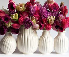 Bud vases from francespalmerpottery.com