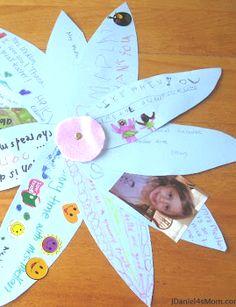 Teacher Appreciation Craft Flower