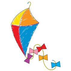 Kite (from hanger)