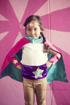 Girly Superhero 5th Birthday Party - Kara's Party Ideas - The Place for All Things Party
