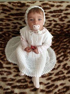 2 PATTERNS PDF  Crochet toddler lacy baby girl by popelkaLida, $8.00