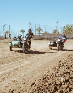 #ironandresin #riding #sidecar | caferacerpasion.com