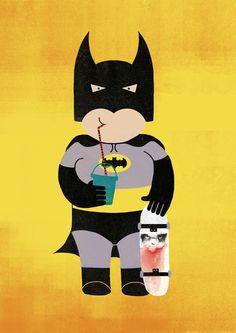 Fat bat man