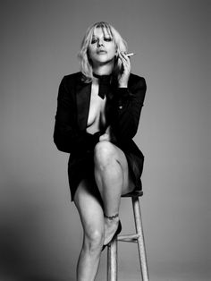 Courtney Love by Hedi Slimane