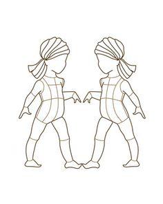 Children Fashion Figure Croqui 001