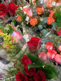 Roses are available at the Co-Op today!