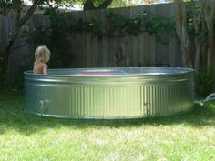 livestock tank pool