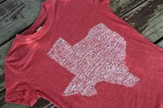 The Texas Cowgirl - Texas Hometown Tee Shirt
