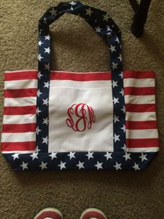 AMERICA AND MONOGRAMS