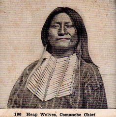 Esa-dowa (aka Heap Wolves) - Comanche - circa 1872