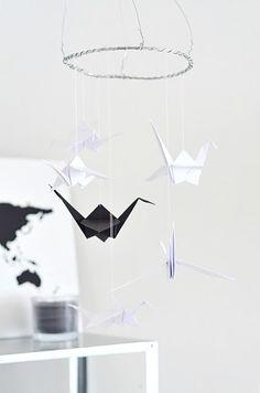 origami mobile!
