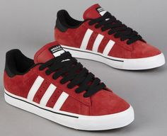 adidas Skateboarding Campus Vulc – University Red