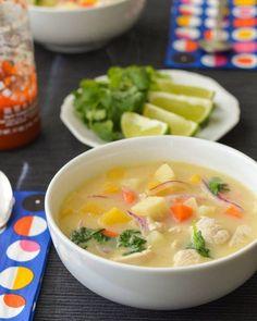 #Recipe: Quick Coconut Chicken Soup