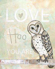 Love Hoo by vol25 on Etsy