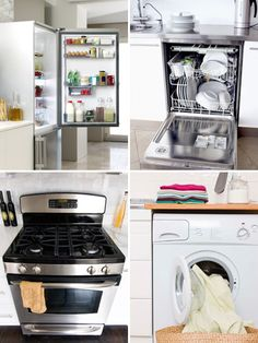 Tips for purchasing major appliances like dishwashers, washing machines and more!