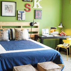 Boys Room Paint Ideas - I like this color!