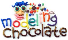 """Recipe: Modeling Chocolate Tutorial - Wicked Goodies - """"Modeling chocolate, also known as plastic chocolate, chocolate leather, or candy clay, is a soft, pliable confection made from chocolate and sugar syrup. It can be used in place of fondant for nearly every existing decorating technique."""""""