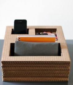 DIY Cardboard Organizer
