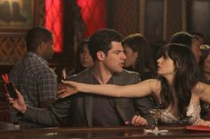 """""""Jess, first of all, you're never gonna be old, humans are going to be immortal by 2026. Second of all, give me your phone. You have backslider written all over you."""" (New Girl - """"Backslide"""")"""