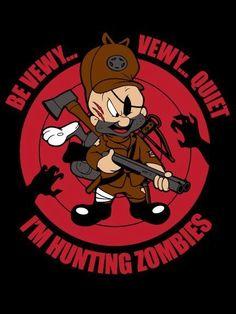 Elmer Fudd: Zombie hunter