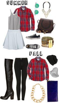 flannel shirt - summer & fall