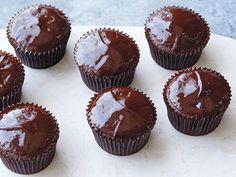 Ina's Chocolate Ganache Cupcakes