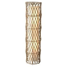 I pinned this Bethany Wicker Accent Lamp from the Pradesh Collection event at Joss and Main!