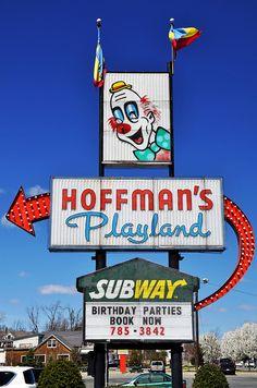Hoffman's Playland - Latham, New York..Amusement Park 60yrs. in 2012