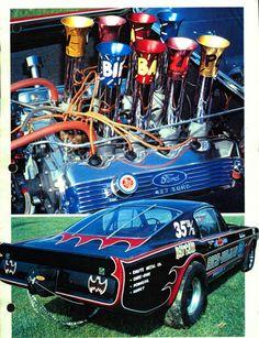 Ford Bat Car Funny Car