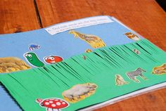 Day 6: Animal and people stickers (Whole booklet on blog - LOVE it!)