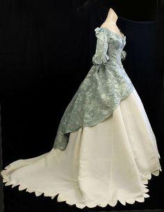 civil war era ball gown