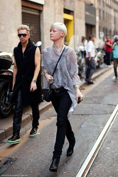 Kate Lanphear. Great style.