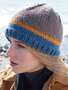 True Colors Hat | Yarn | Free Knitting Patterns  Yarnspirations
