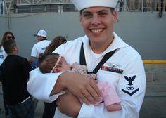 A Happy Sailor Daddy