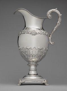 Ewer, ca. 1825  Thomas Fletcher (American, 1787–1866)  Philadelphia  Silver