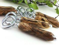 personalized, beach wood, bottle openers