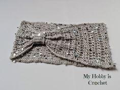 Swanky glam cowl free #crochet pattern from @myhobbyiscroche