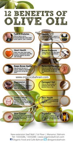 10 Benefits Of Olive Oil Infographic