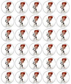 Mr Peabody & Sherman Edible Cupcake Toppers- Southern Outdoor Cinema tip for selling more concession at an outdoor movie event.