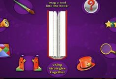 FREE Online Reading Resource~ Great site with lots of visually interesting activities that teach summarizing, inferring, and asking questions, as well as many other reading skills.