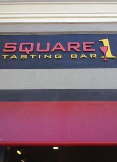 Square One Tasting Bar - Napa, California - #winetasting #wine #winery #bestwine #Napa #travel #vineyard #wines