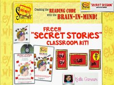 """FREE!!! September Rafflecopter Drawing for a """"Secret Stories Classroom Set!""""...... Plus get the SECRETS for teaching the Superhero Vowels, their sneaky 'short & lazy' disguises and """"Mommy E"""" and teach them to your lass tomorrow :). ....... Follow for Free """"too-neat-not-to-keep"""" teaching tools & other fun stuff :) phonic"""
