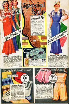 1930s Fashion Illustrations