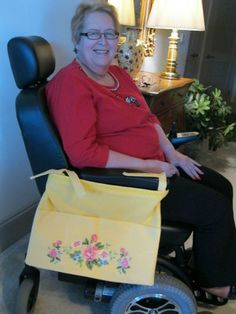 Gift Tote Bags for Walkers Wheelchairs | eBay