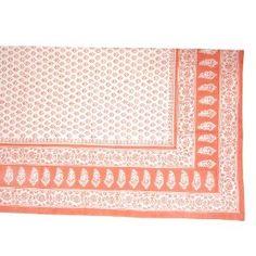 Bettwäsche Sets, Baumwoll Bettücher mit Block Druck Geschenk Weihnachten 223 cm x 147 cm: Amazon.de: Küche & Haushalt