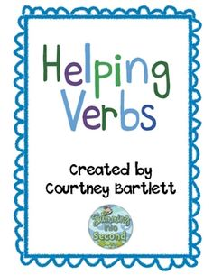 Helping verbs unit - only $1.50