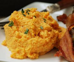 Multiply Delicious- The Food | Cauliflower Carrot Herb Mash