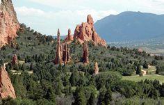 Garden of the Gods - Colorado Springs #Colorado #travel