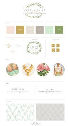 Logo and Website Design :: Morgan Gallo Events :: Saffron Avenue