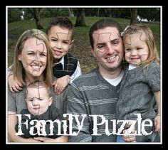 mod podg, craft, pictur puzzl, puzzles, gift ideas, cereal box, family photos, famili puzzl, kid
